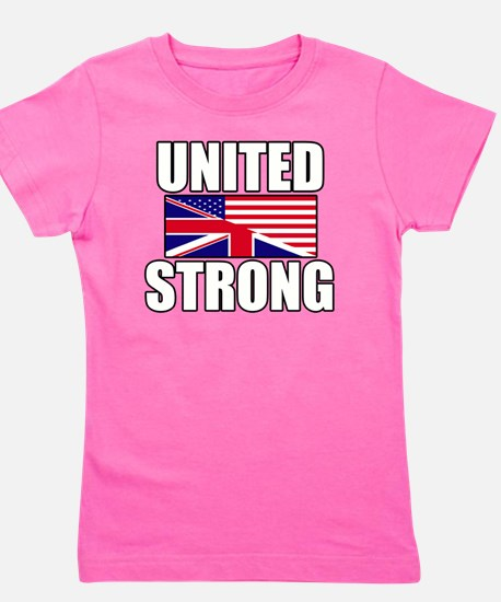 United Strong Girl's Tee