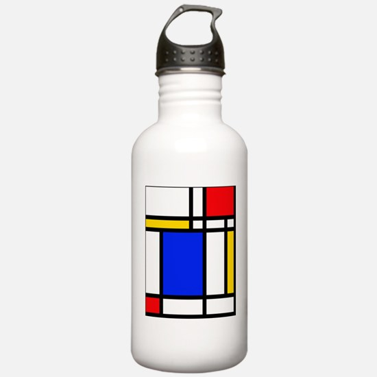 Mondrian Water Bottle