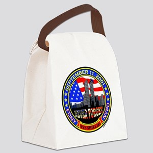 New York State Shields  Logo Canvas Lunch Bag