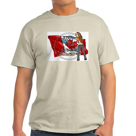 Bad Girl Ash Grey T-Shirt