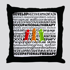 OT all over Throw Pillow
