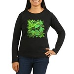 Through the Leaves Watercolor Women's Long Sleeve