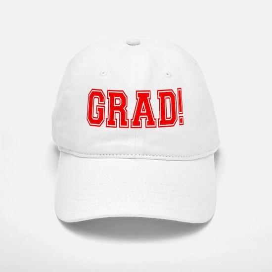 GRAD! Baseball Baseball Cap