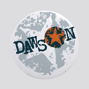 Dawson Band Star logo Round Ornament