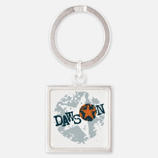 Dawson Band Star logo Square Keychain