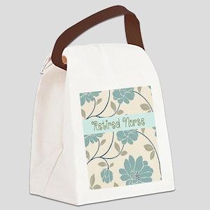 Retired Nurse Pillow 10 Canvas Lunch Bag