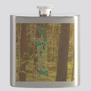 Cernunnos in the Trees Flask