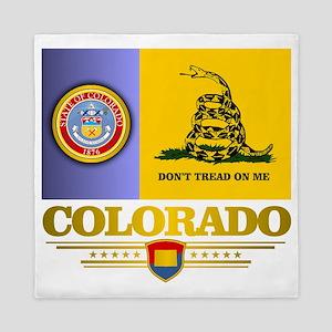 Colorado Gadsden Flag Queen Duvet