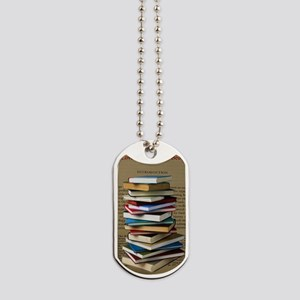 Book Lovers Blanket 2 Dog Tags