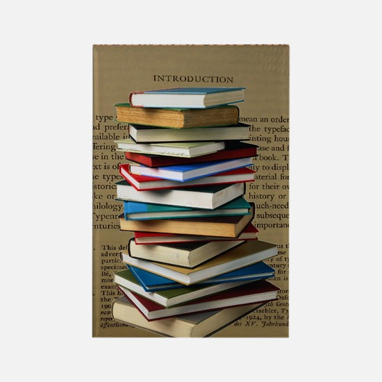 Book Lovers Blanket 2 Rectangle Magnet