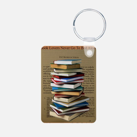Book Lovers Blanket 2 Keychains