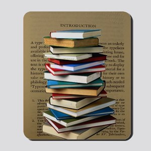 Book Lovers Blanket 2 Mousepad