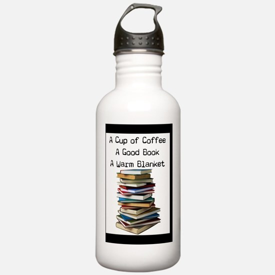 Book Lovers Blanket 3 Water Bottle
