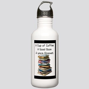 Book Lovers Blanket 3 Stainless Water Bottle 1.0L