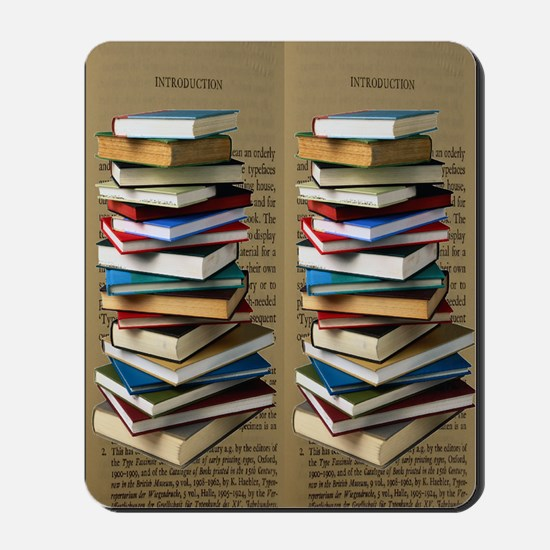 Book Lovers Flip Flops Mousepad