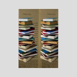 Book Lovers Flip Flops Rectangle Magnet