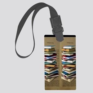 Book Lovers Flip Flops Large Luggage Tag
