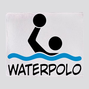 waterpolo Throw Blanket