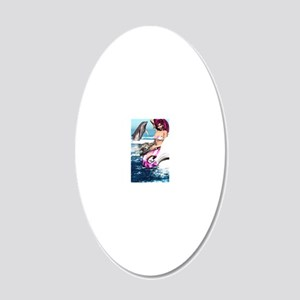 m_iPhone_Wallet_Case 20x12 Oval Wall Decal