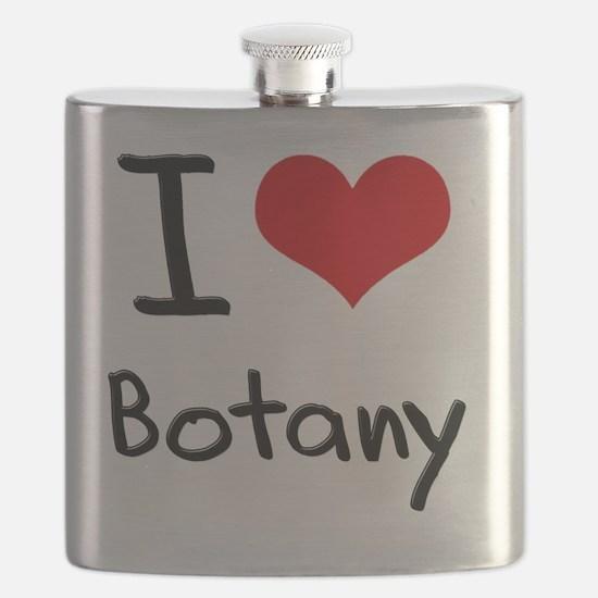 I Love Botany Flask