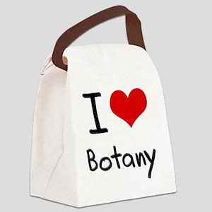 I Love Botany Canvas Lunch Bag