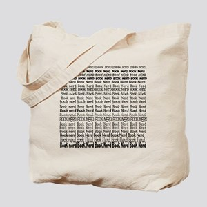 Book Nerd WORDS BLANK Tote Bag