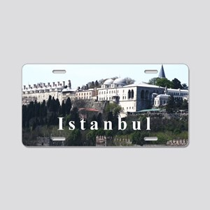 Istanbul_4x9.25_TopkapiPala Aluminum License Plate