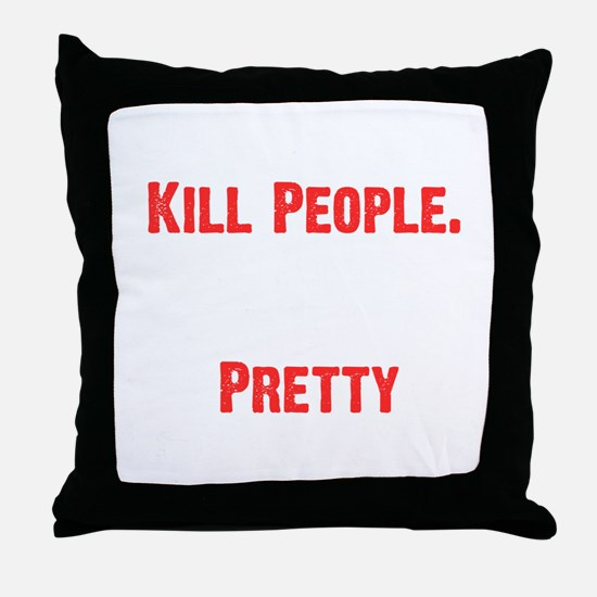 Pretty Daughters Throw Pillow