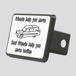 Hearses and friends Rectangular Hitch Cover