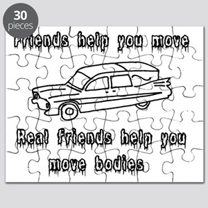 Hearses and friends Puzzle