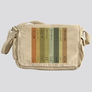 Book Lovers Messenger Bag