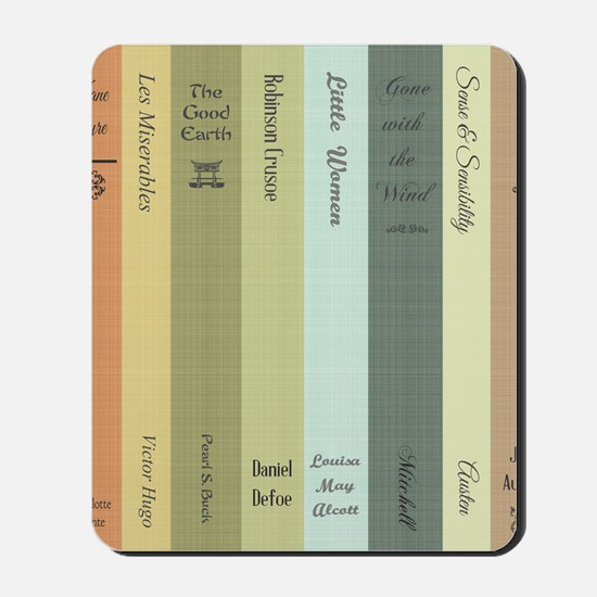 Book Lovers Mousepad