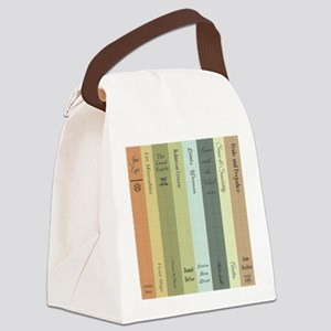 Book Lovers Canvas Lunch Bag