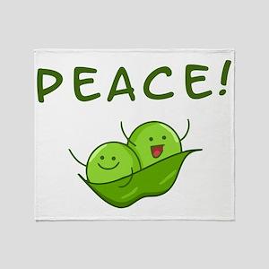 Peace Throw Blanket