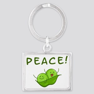Peace Landscape Keychain