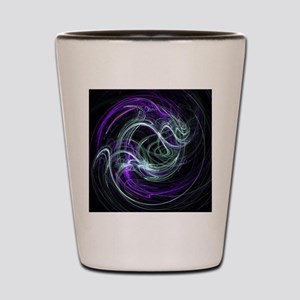 Light Within, Abstract Swirls Shot Glass