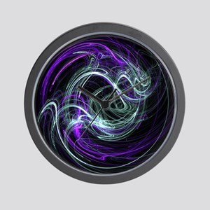 Light Within, Abstract Swirls Wall Clock