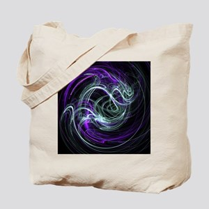 Light Within, Abstract Swirls Tote Bag