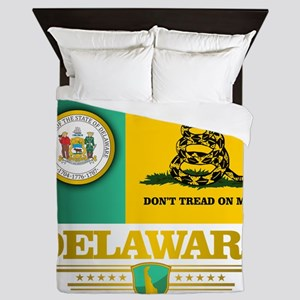 Delaware Gadsden Flag Queen Duvet