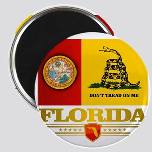 Florida Gadsden Flag Magnet