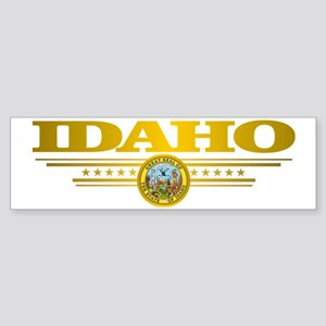 Idaho Gadsden Flag Sticker (Bumper)