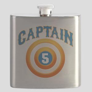 Captain America Flask