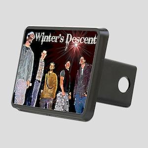 winters descent logo 3 Rectangular Hitch Cover