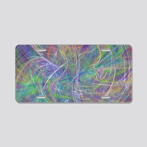 Heart of Light – Abstract F Aluminum License Plate