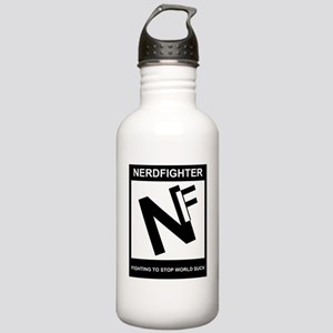 NerdFighter Rating Stainless Water Bottle 1.0L