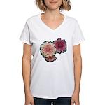 Wax Mums #2 Women's V-Neck T-Shirt