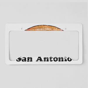 80s San Antonio License Plate Holder