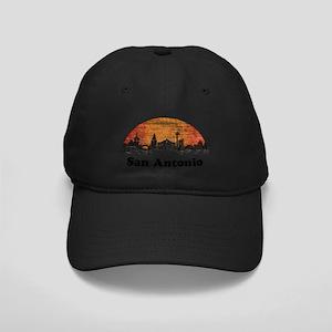 80s San Antonio Black Cap