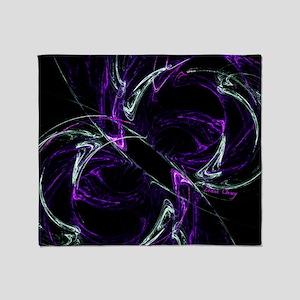 Possibilities, Cosmic Purple Amethys Throw Blanket