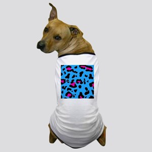 shower leo blue Dog T-Shirt